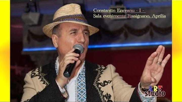 Constantin Enceanu Live Italia 1°|| Mega colaj - muzica de petrecere