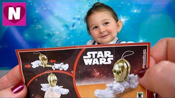 Star Wars Kinder Surprise Звездные войны Распаковка Киндер сюрпризов серии звездные войны