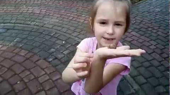 ledy Dasha kids tv Знакомство с улиткой