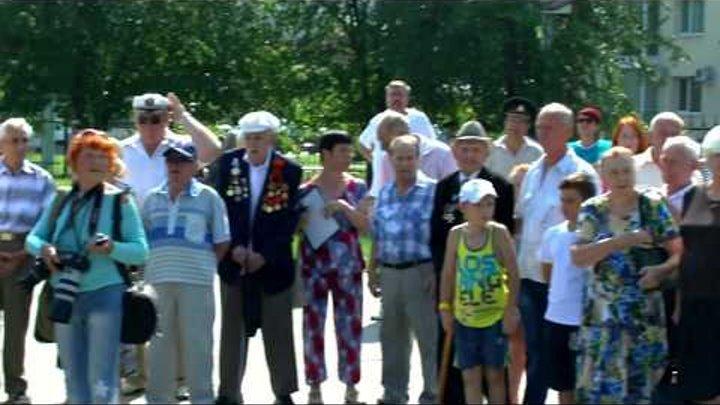День ВМФ в г Энгельсе собрание ветеранов