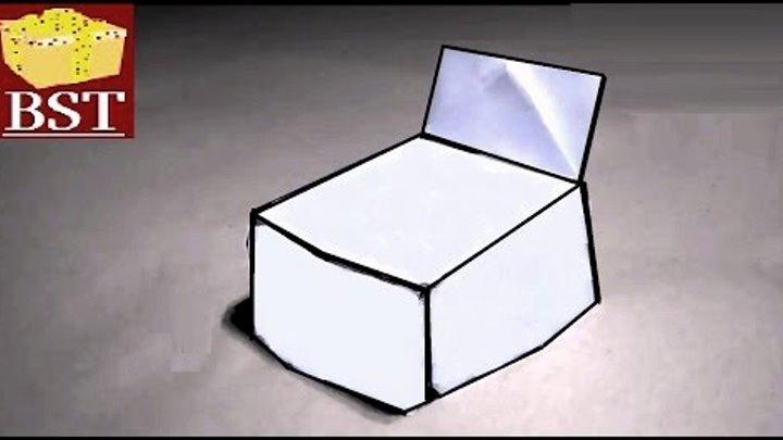 abcb96bb19d7 Как сделать стул для кукол из бумаги А4?