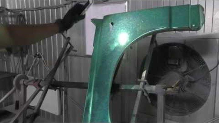 Хром с Флэйками - эксперимент !!! chrome plating technology