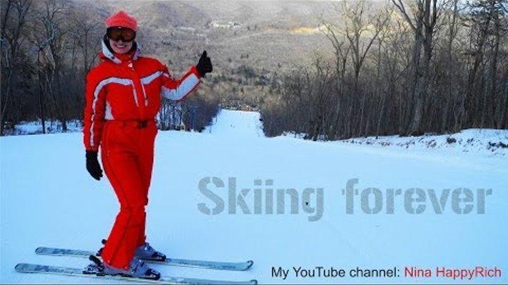 "NHR ♥ Горные лыжи 2014 ☀ Владивосток, база ""Комета"" | Skiing ♥ Nina HappyRich"