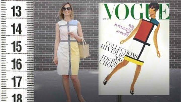 """Я ШЬЮ: Платье """"Вдохновение Ив Сен Лоран"""" / I SEW: Dress Yves Saint Laurent"""