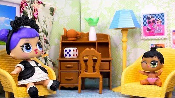 Куклы ЛОЛ СМЕШНЫЕ ВИДЕО 6 Мультики #Игрушки Сюрпризы LOL Видео для Детей с Лалалупси Вероника