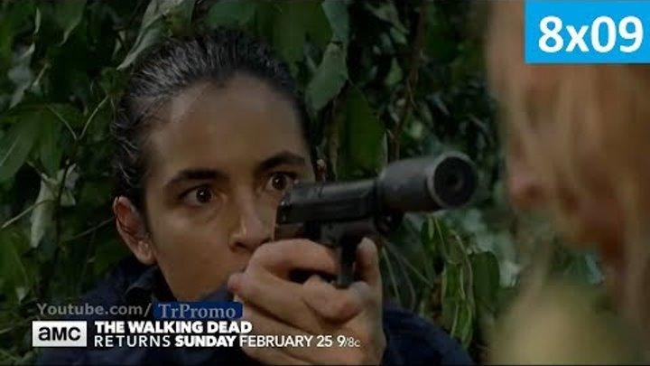 Ходячие мертвецы 8 сезон 9 серия - Русское Промо 2 (Субтитры, 2018) The Walking Dead 8x09 Promo