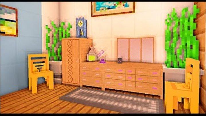 СПАЛЬНЯ и ТУАЛЕТ в майнкрафт - Серия 31 - Minecraft - Строительный креатив 2