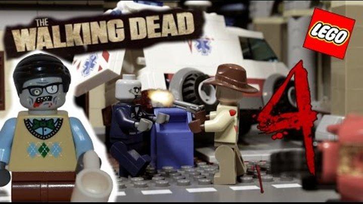 The Walking Dead 1 season 2nd episode / Ходячие мертвецы (лего мультфильм) 4 серия