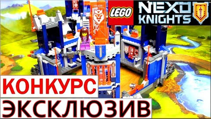 LEGO Nexo Knights 70324. Обзор и сборка Лего Нексо Найтс. Библиотека Мерлока 2.0. Warlord