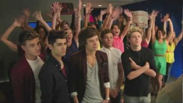One Direction - Pepsi Commercial Extended Outtake