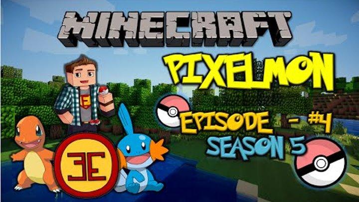 Minecraft: Pixelmon - Эпизод 4 - Ограбление Покецентров и поиски места для дома (Pokemon Mod)
