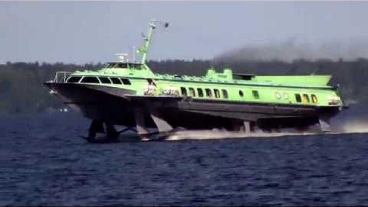 28.06. 2014. Теплоход Комета -17 прибывает в Петрозаводск.