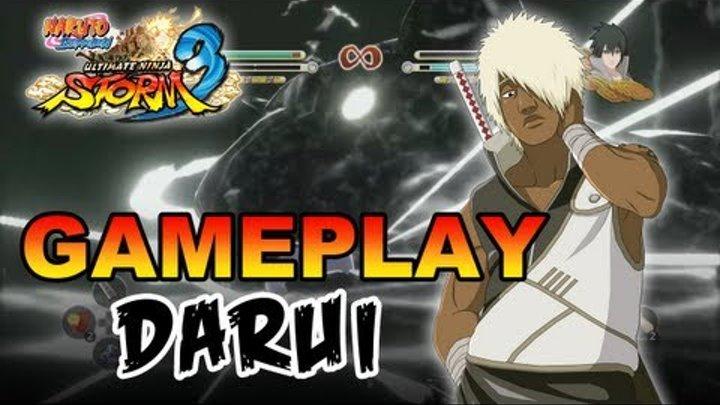 Naruto Shippuden Ultimate Ninja Storm 3 - X360 / PS3 - Darui Gameplay (Gamescom 2012)