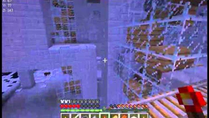 Minecraft выживание.Карта Зомби апокалипсис 3 серия