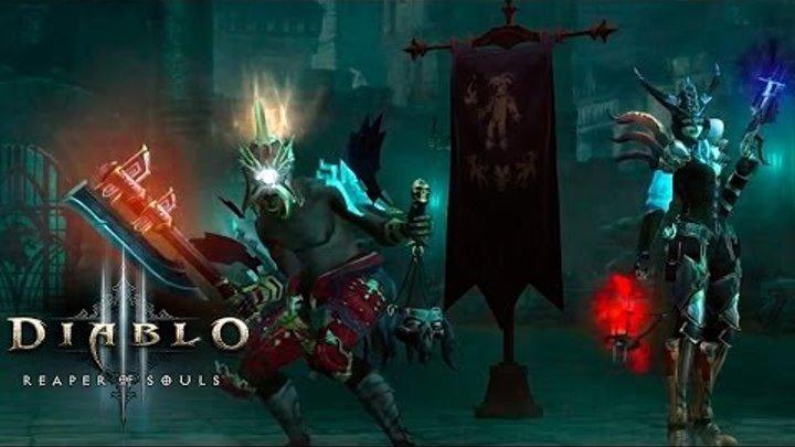 """Diablo III: Reaper of Souls [Режим Приключений] Колдун и Охотник на демонов 70 lvl ✔ """"Истязание"""""""