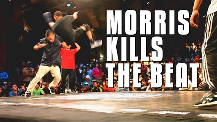 Bboy Morris kills the beat | World Bboy Classic 2011