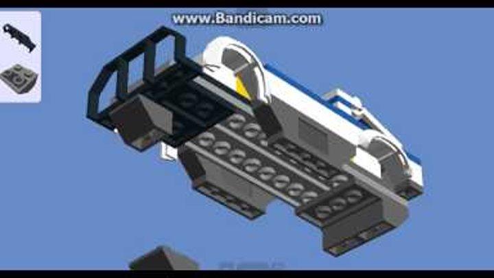 Как собрать Lego полицейскую машину ( Lego City 60007 )