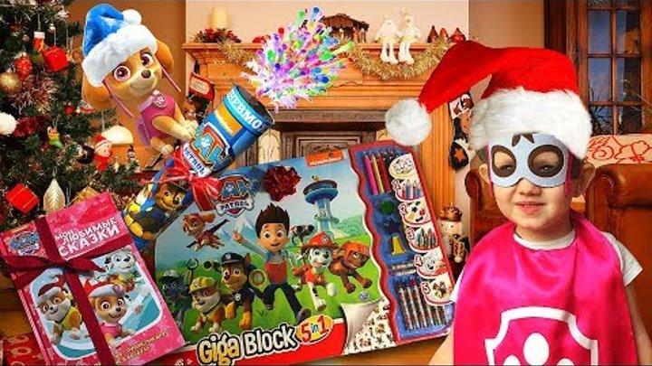 🐾🎄 Paw Patrol Skye Cartoon surprise toys Unboxing Щенячий Патруль Мультик Сюрпризы Игрушки для Скай