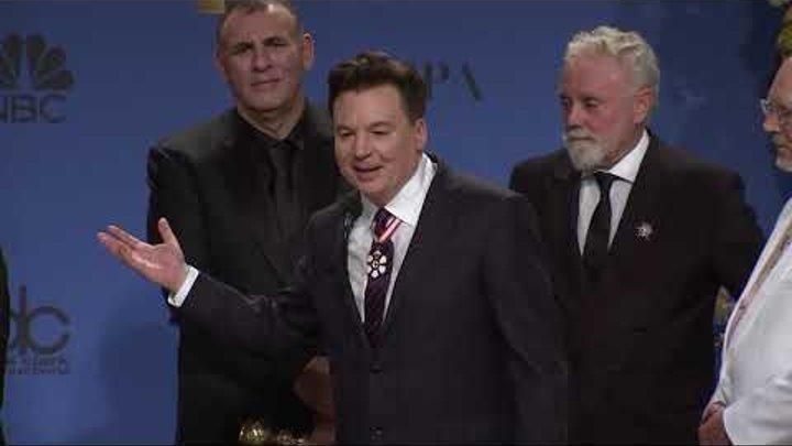 Rami Malek & 'Bohemian Rhapsody' - Golden Globes - Full Backstage Interview
