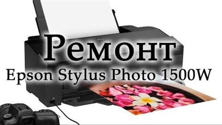 Ремонт Epson Stylus Photo 1500W пропускает листы