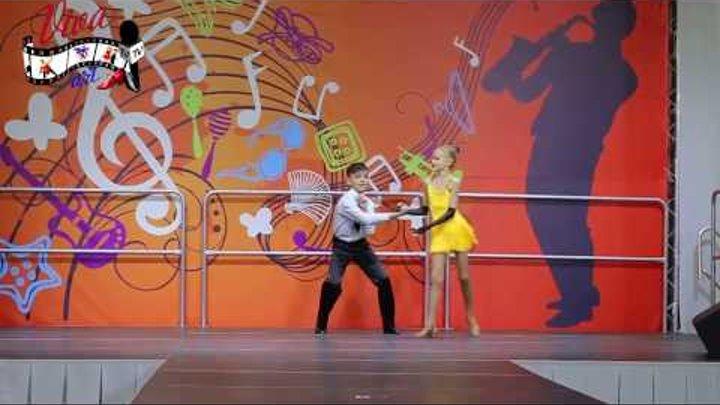 """шоу-дуэт """"Бэбики"""" танец """"ЧаЧаЧа и Самба""""(Денис+Амина)"""