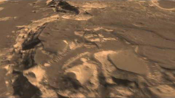 JPL | Поиск мест для посадки на Марсе.