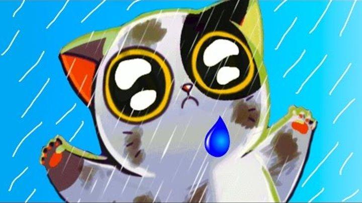 КОТЕНОК с УЛИЦЫ #1 - Виртуальный Котик - My Virtual cat Mimitos игровой мультик для детей #ПУРУМЧАТА