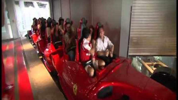 Golden Ticket winners visit Ferrari World