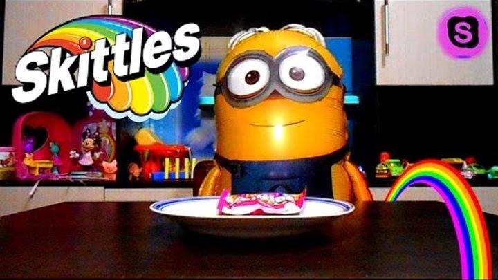 Крутой эксперимент с конфетами Скитлс with the candy Skittles София Прекрасная Все серии