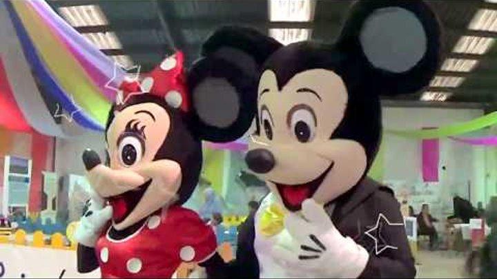 Микки Маус и Минни в Парке Развлечений. Mickey Mouse and Minnie. Видео для детей