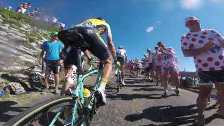 Tour de France 2016: Stage 15 on-board highlights