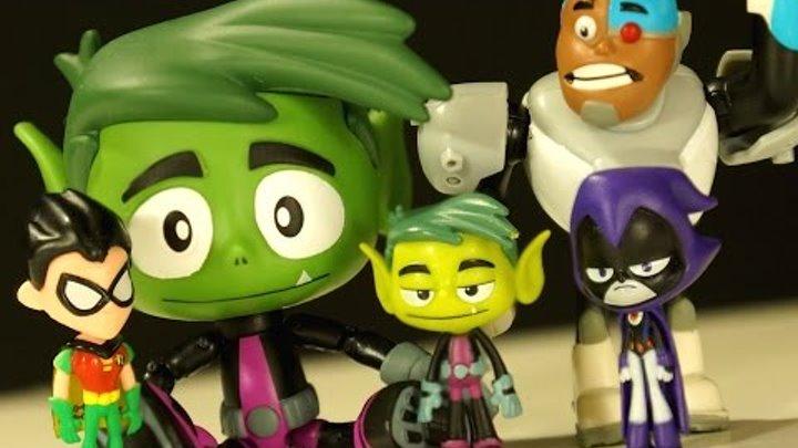 Кока Все Серии - Юные Титаны Вперед! - Игрушки из Мультика + Игра - Teens Titans GO!