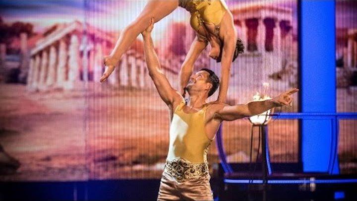 Carl Froch & Sita Bhuller's Floor Performance to 'Viva La Vida' - Tumble: Episode 2 - BBC One