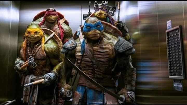 Черепашки-ниндзя 2 (2016) - Русский Трейлер (Teenage Mutant Ninja Turtles 2)
