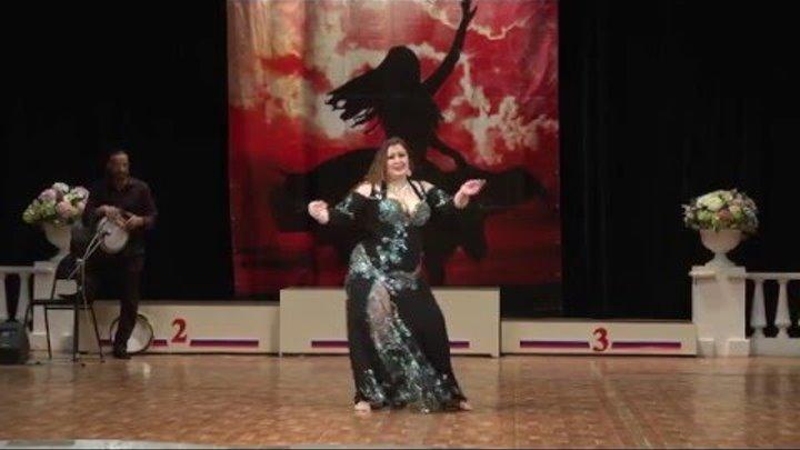 Дина Ганина. Конкурс под оркестр Mazzikatea. Импровизация. Взрослые-2. 1-у место. 27.02.2016г.