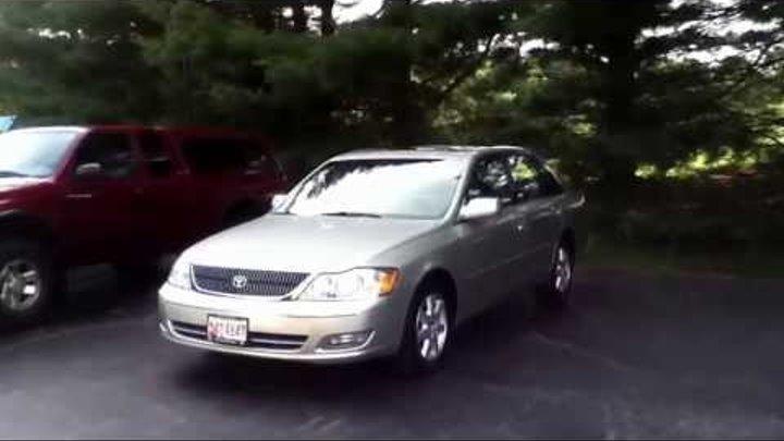 2001 Toyota Avalon XLS Review