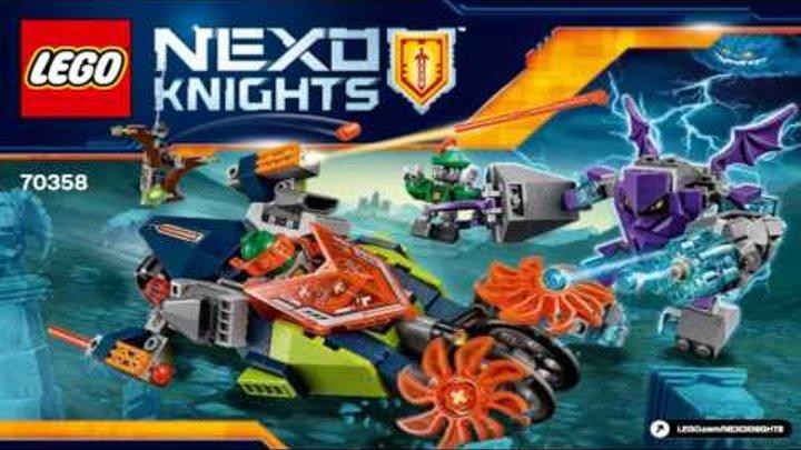LEGO Nexo Knights 2017 AARON'S STONE DESTROYER 70358 Лего Рыцари Нексо СЛАЙСЕР ААРОНА