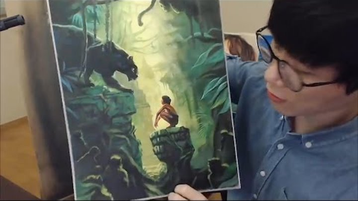 The Jungle Book - Speed Painting 정글북 2016
