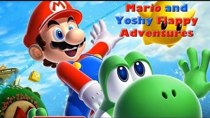 NEW Игры для детей—Disney Принцесса Марио и Йоши летают—Мультик Онлайн Видео Игры для девочек