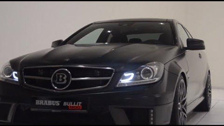2013 Brabus Mercedes C Class 6.3 litre twin turbo V12 Bullit Coupé 800 Commercial Carjam TV HD