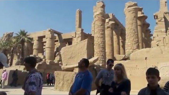 Египет,Люксор,Карнакский храм,город живых,февраль 2016 Egypt. Luxor. Karnak