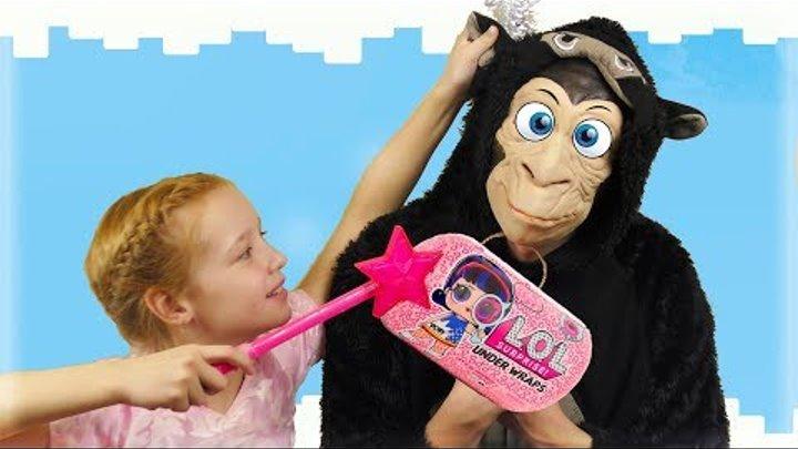 Соня и новогодняя распаковка ЛОЛ для детей