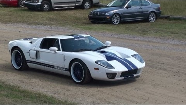 Tribute to the Ford GT - AWESOME SOUNDS!