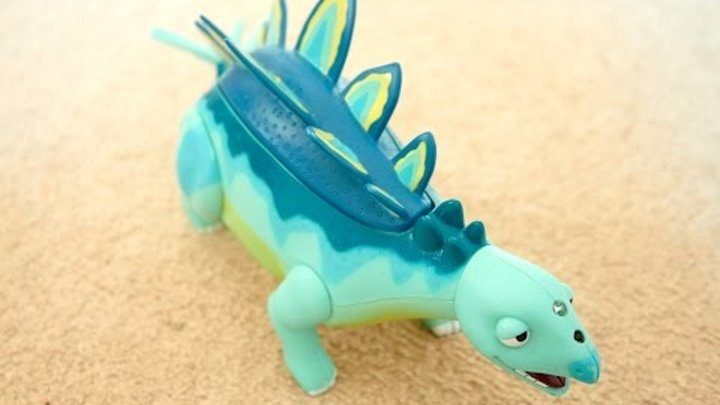 мультфильм Поезд Динозавров HD - динозавр Morris. Говорящие игрушки. Обзор