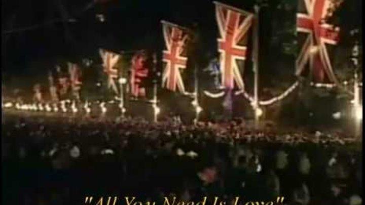 Paul McCartney - Rod Stewart - Joe Cocker - All You Need Is Love