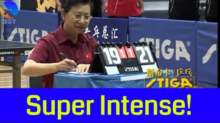 BEST TABLE TENNIS MATCH - CHINA AMATEUR LEVEL