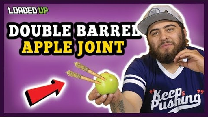 Smoking 2 Joints With 1 Apple