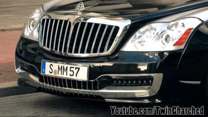Xenatech Maybach 57SC - Start Up, Rev, Acceleration