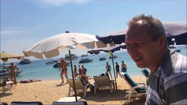 Отпуск в Тайланде! Сколько стоит снять катер и купание на островах!