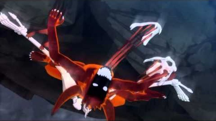 Naruto Ultimate Ninja Storm 2   Naruto vs Pain   Boss Battle Scene   Japanese